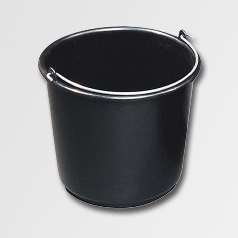 10 st ck baueimer 20l m rteleimer k bel eimer 20 liter volumen in schwarz. Black Bedroom Furniture Sets. Home Design Ideas